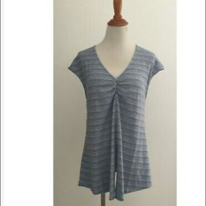Anthropologie Deletta Cranbrook Knotted Tee M New
